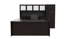 Cherryman Amber Series Desk Configuration