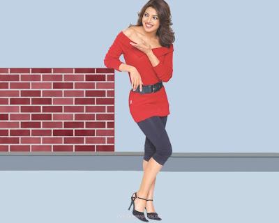 Priyanka Chopra Glamour Wallpaper in Don 2