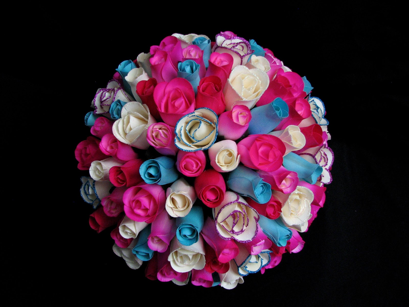 Wooden Roses from Camelot