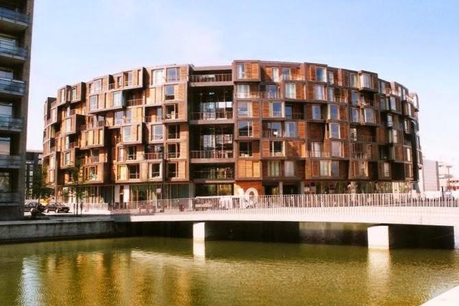 Copenaghen l architettura italian yes for Cortile circolare
