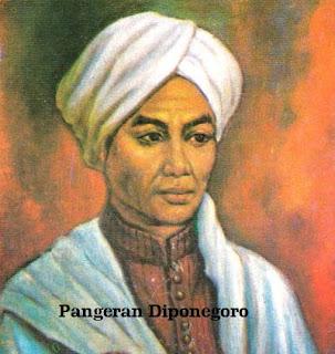 Biodata Pangeran Diponegoro