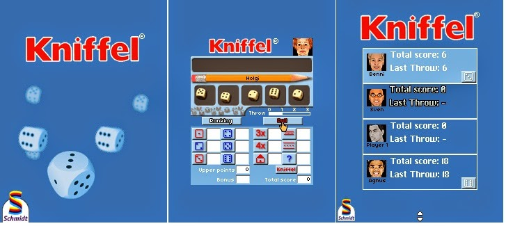 Kniffel, free, downloads, java, games, mobile, phone, jar, platform, software, free multiplayer games, free downloads multiplayer, multiplayers, game multiplayer, java multiplayer