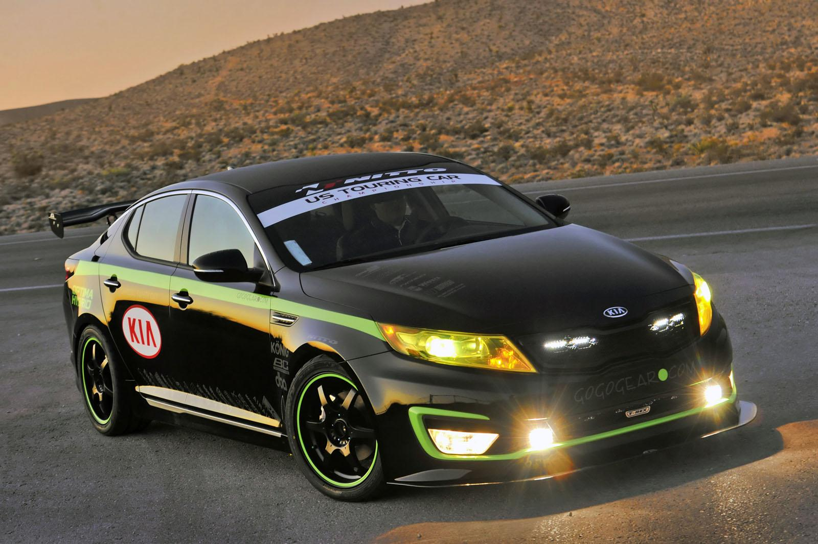2012 kia ustcc optima hybrid pace car sport cars and motorcycle news. Black Bedroom Furniture Sets. Home Design Ideas