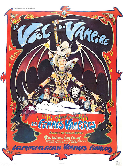 Jean Rollin's The Rape of the Vampire Le Viol du Vampire poster