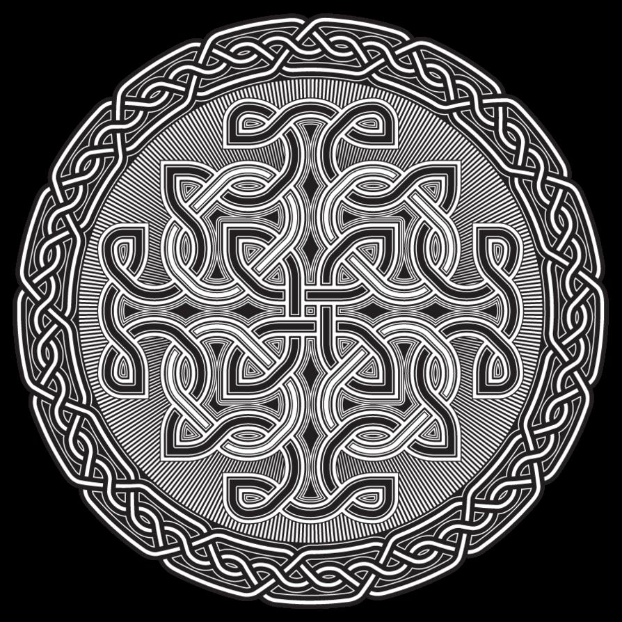 Значение кельтских символов лабиринт