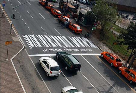 Bar code crosswalk