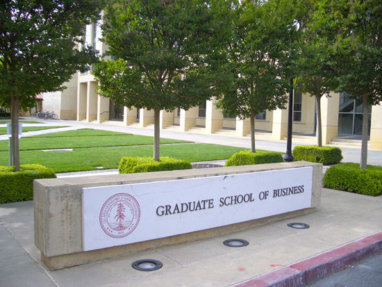 stanford graduate school of business application essays