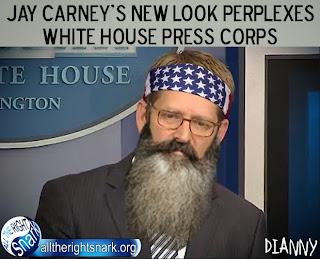 Jay Carney Beard