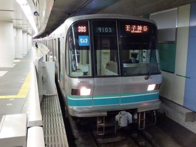 東京メトロ南北線 王子神谷行き3 9000系