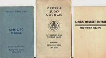 BJC & BAC Members cards 1950s - 1960s