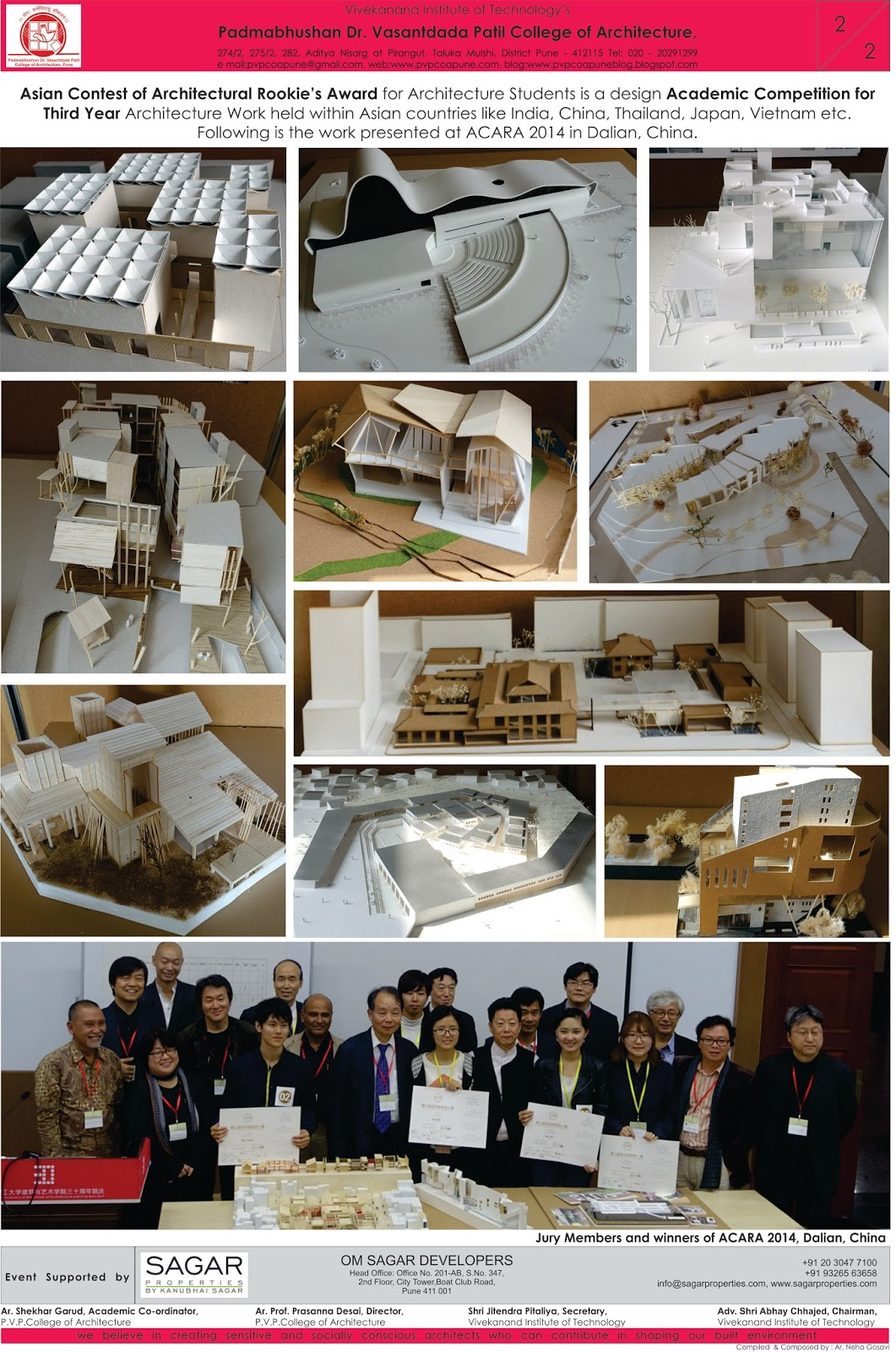 pvp college of architecture registration for asian contest for