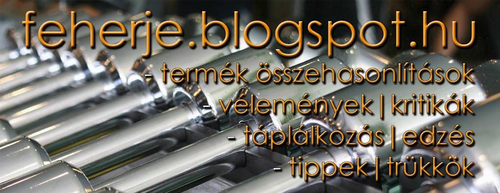 Feherje.blogspot.hu | Diéta | Fehérje | Whey Protein | BCAA | Kreatin | Glutamin | Tömegnövelő