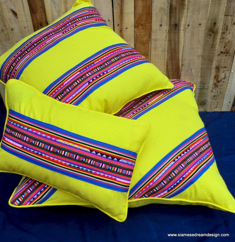 Lisu colorful floor pillows
