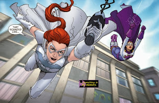 Bluebelle and Daybreak from Batgirl #27
