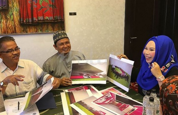 Gambar Stadium pink Kelantan didedahkan oleh Datuk Seri Vida