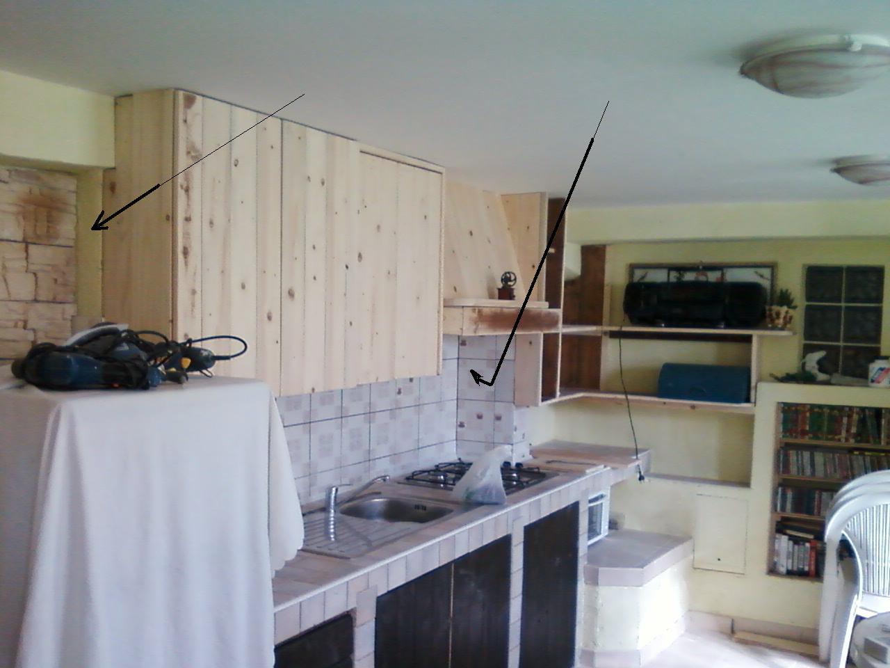 Mie Soluzioni: Pensili per cucina in muratura