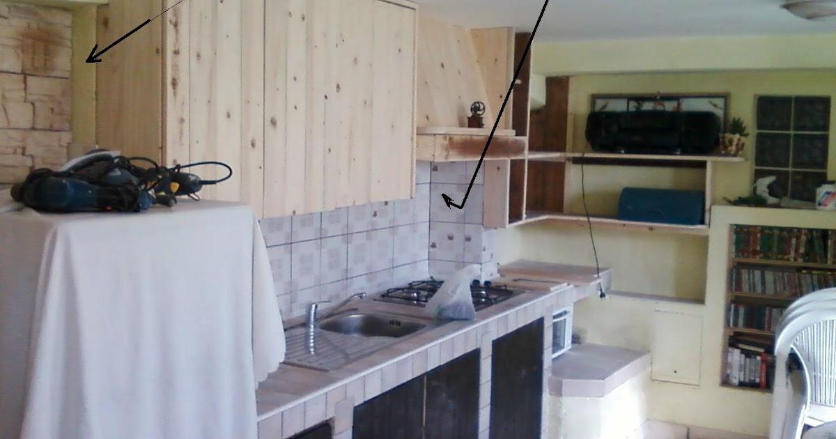 Mie soluzioni pensili per cucina in muratura - Soluzioni no piastrelle cucina ...