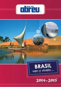 Catálogo Abreu viaje a Brasil