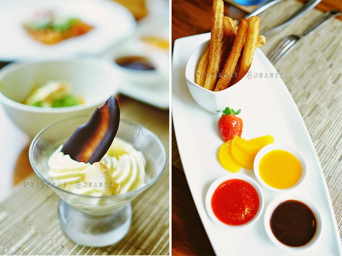 Dessert at Botany Restaurant Holiday Inn Jakarta Kemayoran