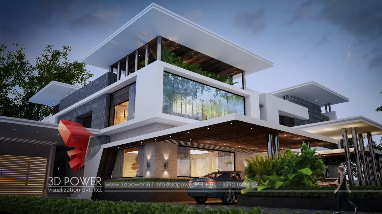 Ultra modern home designs home designs for Architecture design for home in india