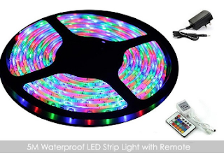 Groupon : Buy CPCN 5M Waterproof LED Strip Light And Remote and Get Extra 20% off BuyToEarn