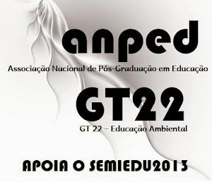 ANPEd, GT22: apoio ao semiedu2013 e ao 2º luso