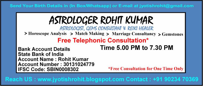 Free Kundli Horoscope Vedic Astrology Jyotish online