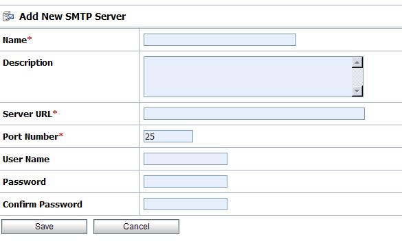 Add SMTP Server Details