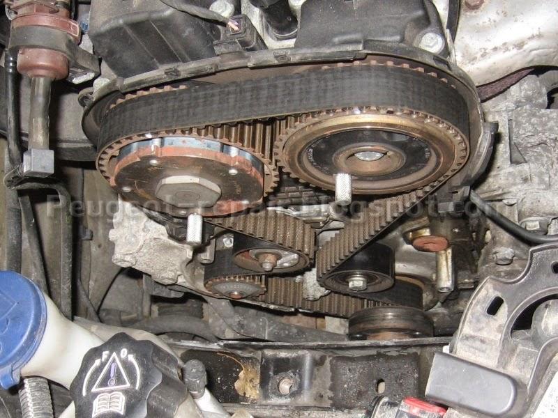 двигатель peugeot 1.4 метки грм