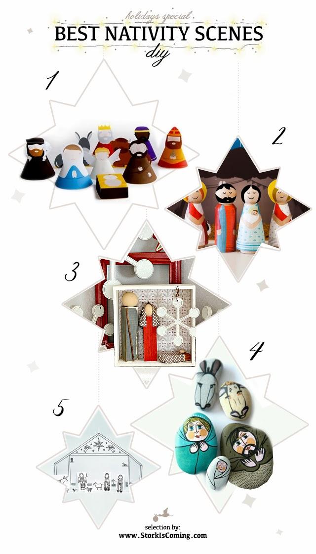 best diy nativity scene