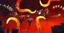 Skjermbilde fra Rayman Origins