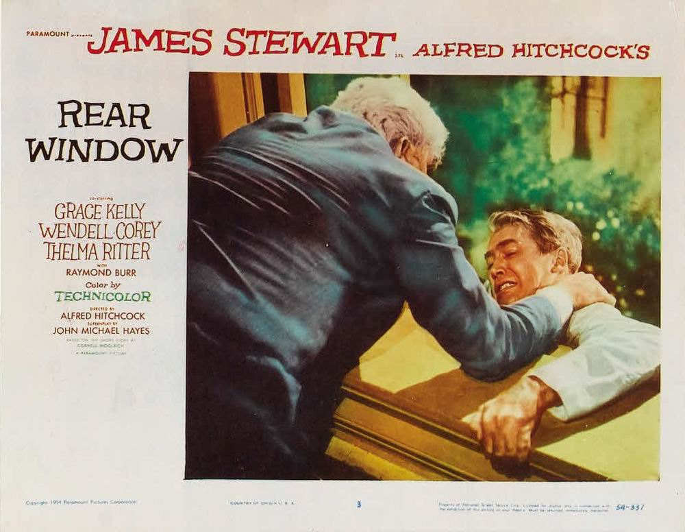 rear window alfred hitchcock essay example Essay, research paper marriage anxieties and voyeurism in rear window in alfred hitchcock s rear window, lb jeffries, played by jimmy stewart, becomes wholly obsessed with passing all of his waking hours watching his neighbours from his wheelchair.