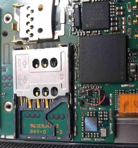 Nokia 7230, keypad and display light Problem And solution.