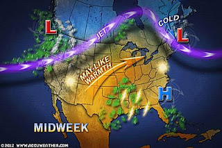 >Mild Weather Persists Over UK/Ireland Through This Week, Blowtorch Of A Week For USA