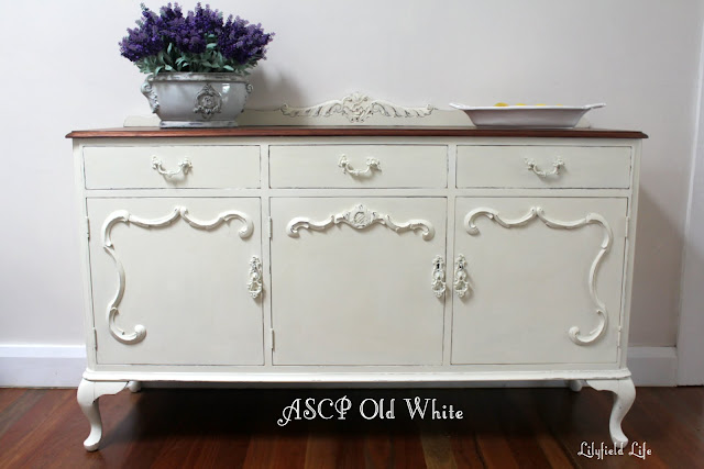 Lilyfield Life: ASCP Old White Annie Sloan Chalk Paint