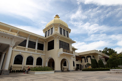 The main building of the old Istana Negara which was the former official residence of the Yang di-Pertuan Agong.
