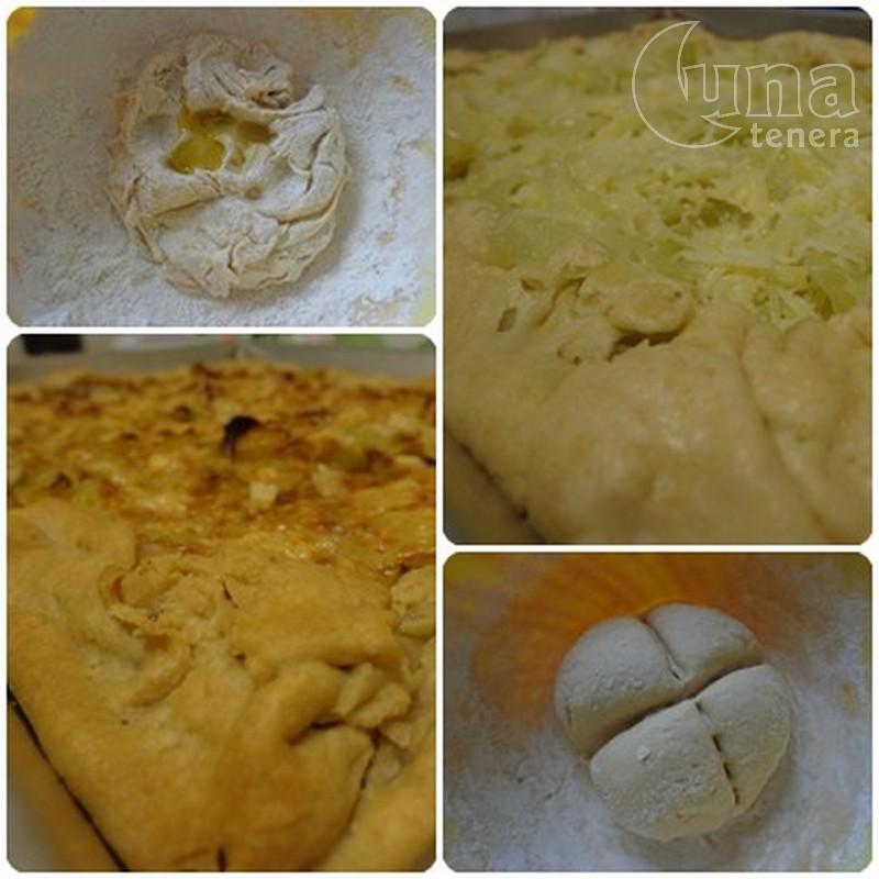 torta salata con pasta madre