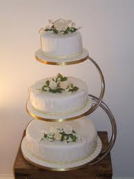 3 Tier Wedding Cake Stand Pictures
