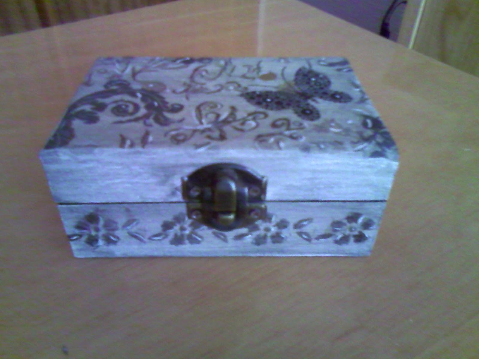Manualidades adita cajas de madera - Caja madera manualidades ...