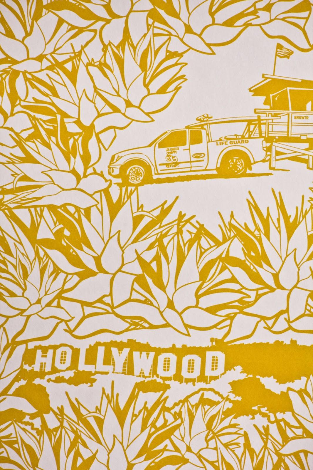 Papier peint jaune Papiers peints Jaunes Graham & Brown