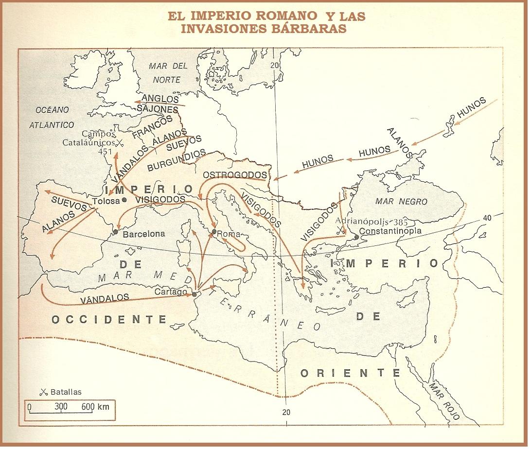 Historia y FE y C: 2º HISTORIA: LAS INVASIONES BÁRBARAS. EL FIN DE ...