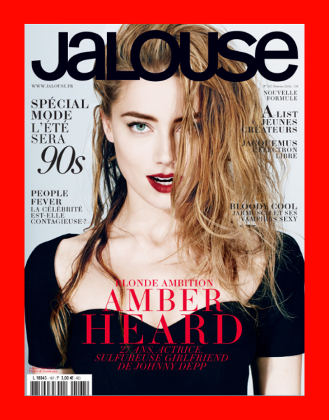 Amber Heard by Alexei Hay for Jalouse Magazine Feb 2014