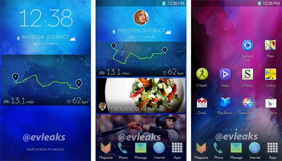 Samsung's next generation TouchWiz UI leaks