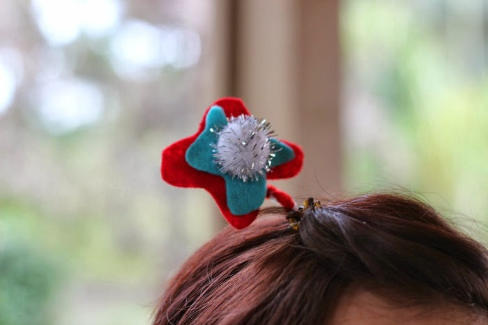 Funky Fun Dr. Seuss Trufulla Tree Hair Clip