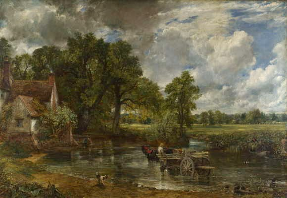 Lukisan John Constable, The Hay Wain