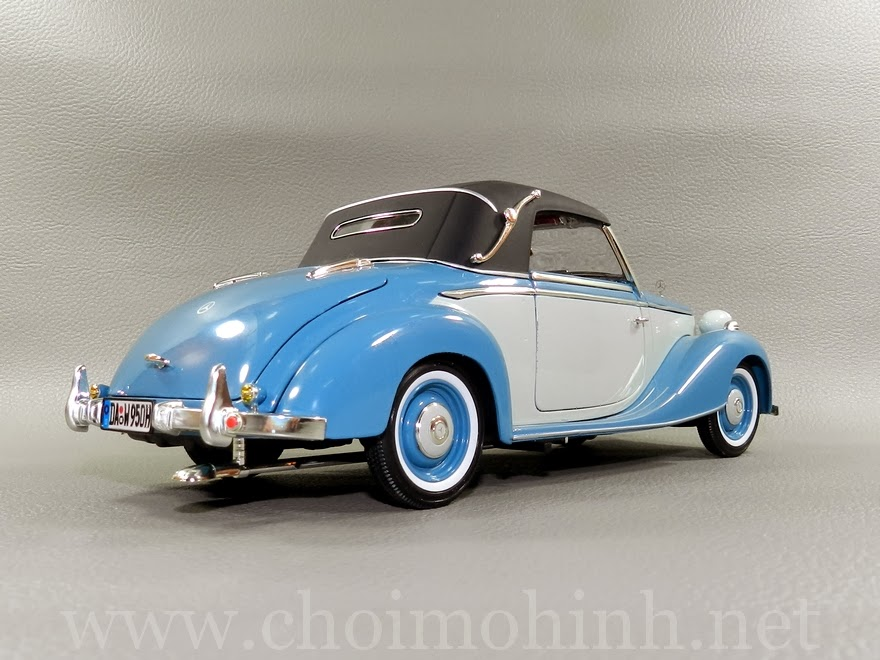 Mercedes-Benz 170S Cabriolet 1950 1:18 Signature back