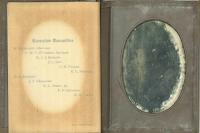 Senior Ball 1914 dance card