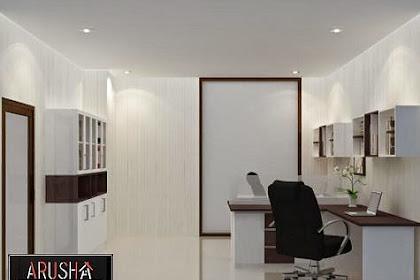 Desain interior Kantor Modern Minimalis nyaman bersih menawan