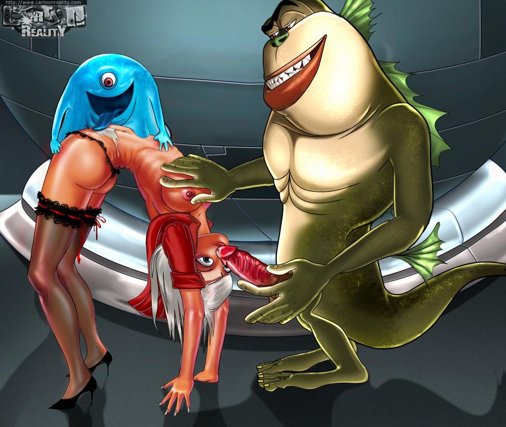 monster gegen aliens porn
