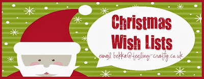 Feeling Crafty Christmas Wish List Service - get the Stampin' Up! goodies you want this Christmas!